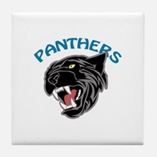 Team Panthers Tile Coaster