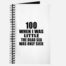 100 When I Was Little Birthday Journal