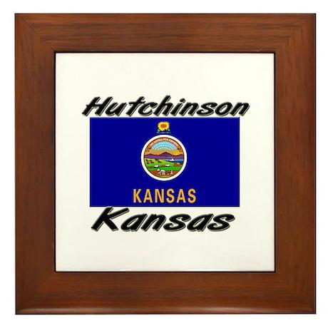 Hutchinson Kansas Framed Tile