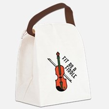 Fit As Fiddle Canvas Lunch Bag