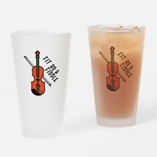 Fit As Fiddle Drinking Glass