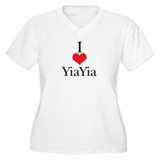 I Love (Heart) YiaYia T-Shirt