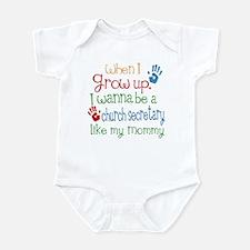 Church Secretary Like Mommy Infant Bodysuit