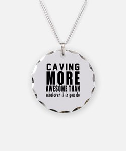 Caving More Awesome Designs Necklace