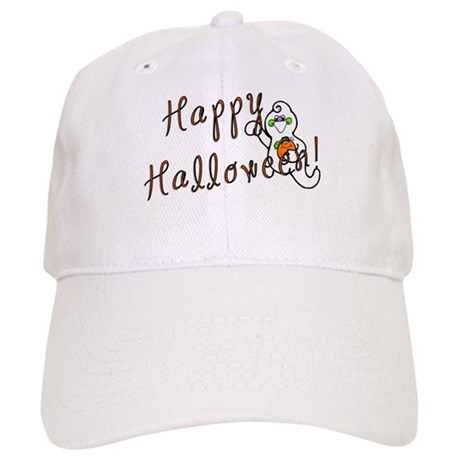 Happy Halloween Ghost Cap