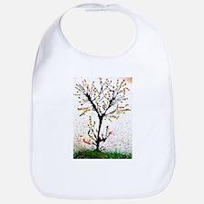 Spring tree Bib