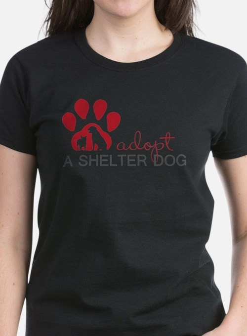 Cute Adopt a shelter dog Tee