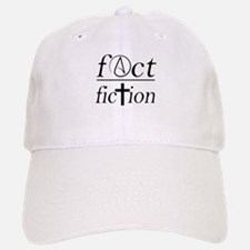 fact over fiction atheist religion science Baseball Baseball Cap