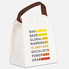 Socialist Power Grab Canvas Lunch Bag