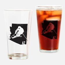 Ski Arizona Drinking Glass