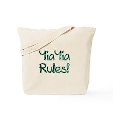 YiaYia Rules! Tote Bag