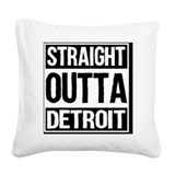 Detroit Square Canvas Pillows