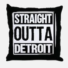 Cute Detroit tiger Throw Pillow