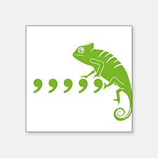 "Cute Chameleons Square Sticker 3"" x 3"""
