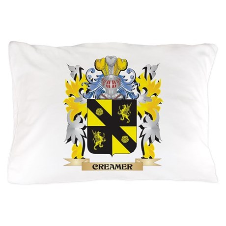 Creamer Coat of Arms - Family Crest Pillow Case