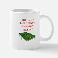 table tennis Mugs