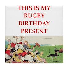 rugby Tile Coaster
