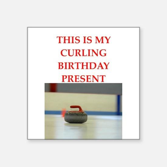 a birthday present Sticker