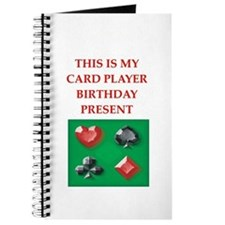 card players Journal