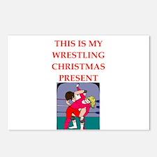 wrestling Postcards (Package of 8)