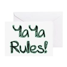 YaYa Rules! Greeting Card