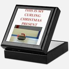curling Keepsake Box