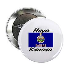 Hays Kansas Button