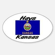 Hays Kansas Oval Decal