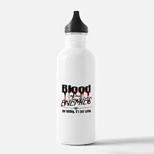 Coffee Blood Water Bottle