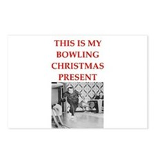 bowling Postcards (Package of 8)