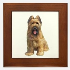 Briard A Framed Tile