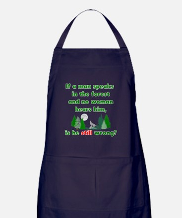 Cute Entertainment humor Apron (dark)