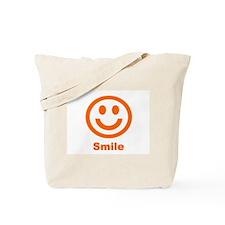 Orange Smile Tote Bag