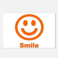 Orange Smile Postcards (Package of 8)