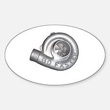 Funny Det Sticker (Oval)