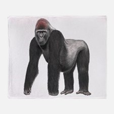 SILVERBACK Throw Blanket