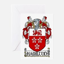 Hamilton Coat of Arms Greeting Cards (Pk of 20)