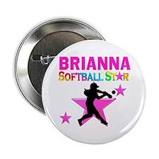 """SOFTBALL STAR 2.25"""" Button"""