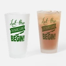 Cute St patricks day drinking team Drinking Glass
