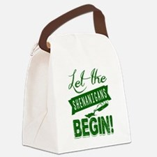 Cute St patricks day Canvas Lunch Bag