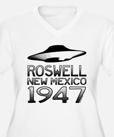 Roswell UFO 1947 Plus Size T-Shirt