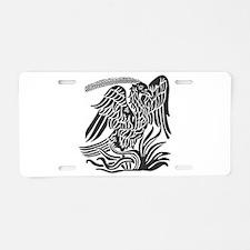 Phoenix Bird Tribal Tattoo Aluminum License Plate