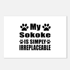 My Sokoke cat is simply i Postcards (Package of 8)