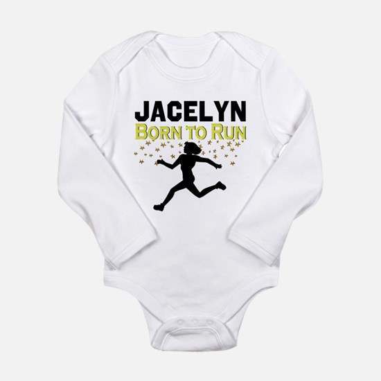TRACK AND FIELD Long Sleeve Infant Bodysuit
