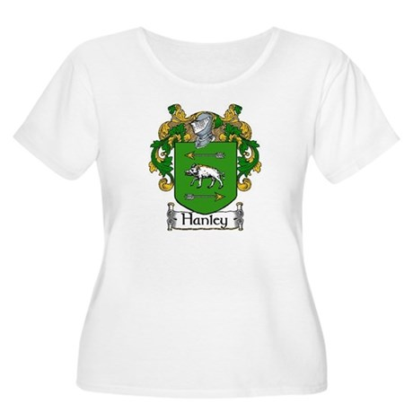 Hanley Coat of Arms Women's Plus Size Scoop Neck T