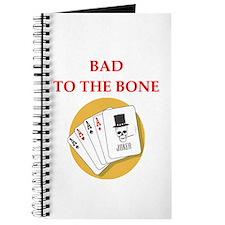 card player joke Journal