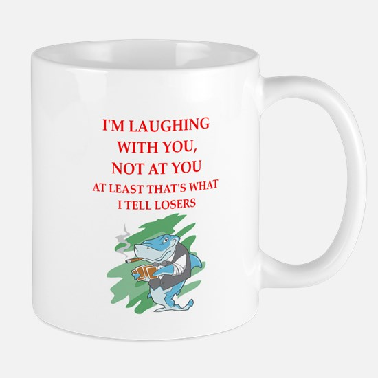 card player joke Mugs