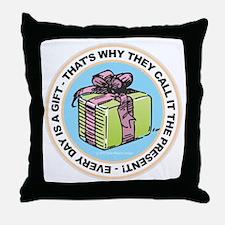 The Present Throw Pillow