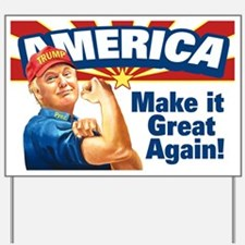 America Great Trump Yard Sign
