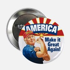 "America Great Trump 2.25"" Button (10 pack)"